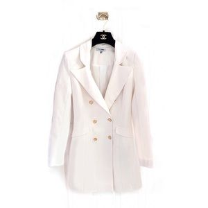 Fashion Nova Double Breasted Coat Blazer